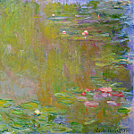 Water Lily Pond, 1917 01, Claude Oscar Monet