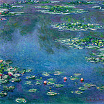 Water Lilies, 1906 03, Claude Oscar Monet