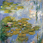 Water Lilies, 1916-19 01, Claude Oscar Monet