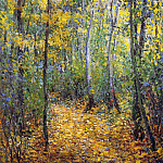 Wood Lane, Claude Oscar Monet