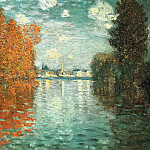 Claude Oscar Monet - Autumn Effect at Argenteuil