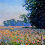 Claude Oscar Monet - Oat Field
