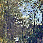 Lane in Normandy, Claude Oscar Monet