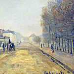 Claude Oscar Monet - The Boulevard Heloise in Argenteuil