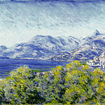 View of Ventimiglia, Claude Oscar Monet