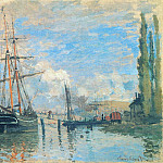 The Seine at Rouen, Claude Oscar Monet