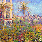 Villas at Bordighera 03, Claude Oscar Monet
