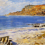 Claude Oscar Monet - Sailing At Sainte Adresse