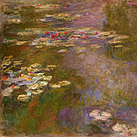 Claude Oscar Monet - Water Lily Pond
