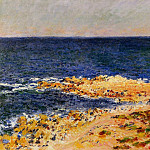Claude Oscar Monet - The 'Big Blue' at Antibes