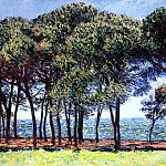 Pine Trees, Cap d'Antibes, Claude Oscar Monet