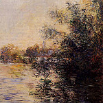 Evening Effect of the Seine, Клод Оскар Моне
