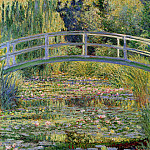 Claude Oscar Monet - The Japanese Bridge (The Water-Lily Pond)