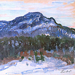 Mount Kolsaas, Claude Oscar Monet