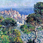 Claude Oscar Monet - Bordighera, View