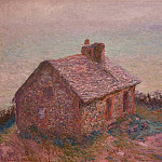 Claude Oscar Monet - Customs House at Varengaville