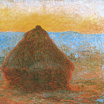 Grainstack, Claude Oscar Monet