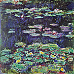 Claude Oscar Monet - Water Lilies, 1914 01