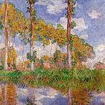 Claude Oscar Monet - Three Trees in Summer