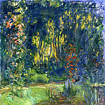 Claude Oscar Monet - Water Lily Pond at Giverny