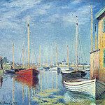 Клод Оскар Моне - Argenteuil. Yachts 02