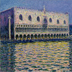 The Palazzo Ducale, Claude Oscar Monet