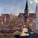 Bennecourt, Claude Oscar Monet
