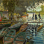 Claude Oscar Monet - Bathers at La Grenouillere