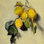 Claude Oscar Monet - Branch of Lemons