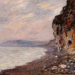 Cliffs at Pourville in the Fog, Claude Oscar Monet