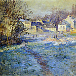 White Frost, Claude Oscar Monet