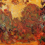 The House Seen from the Rose Garden 2, Claude Oscar Monet