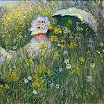 In the Meadow, Claude Oscar Monet