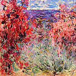 Claude Oscar Monet - Flowering Trees near the Coast