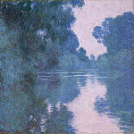 Claude Oscar Monet - Morning on the Seine near Giverny 02