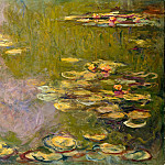Claude Oscar Monet - Water Lilies, 1919 05
