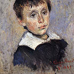 Portrait of Jean Monet, Claude Oscar Monet