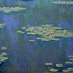 Water Lilies, 1905 04, Claude Oscar Monet