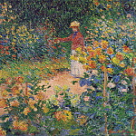 In the Garden, Claude Oscar Monet