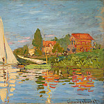 Regatta at Argenteuil, Клод Оскар Моне