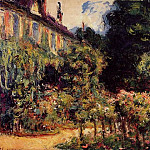 Claude Oscar Monet - The Artist's House at Giverny