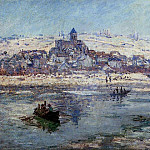 Vetheuil in Winter, Claude Oscar Monet