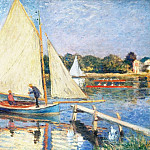 Boaters at Argenteuil, Claude Oscar Monet