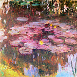 Claude Oscar Monet - Water Lilies, 1914-17 01