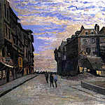 Le Lieutenance at Honfleur, Claude Oscar Monet