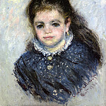 Claude Oscar Monet - Portrait of Jeanne Serveau