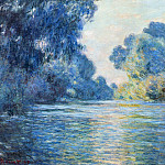 Morning on the Seine at Giverny 02, Claude Oscar Monet