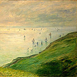 Cliffs Walk at Pourville, Claude Oscar Monet