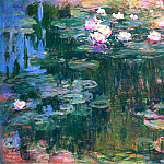 Water Lilies, 1914-17 05, Claude Oscar Monet