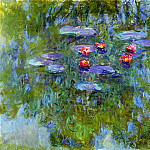 Water Lilies, 1916-19 04, Claude Oscar Monet